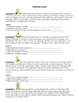 Identify Variables Worksheets