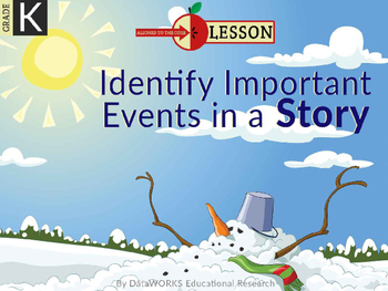 Identify Important Events in a Story