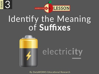 Identify the Meaning of Suffixes