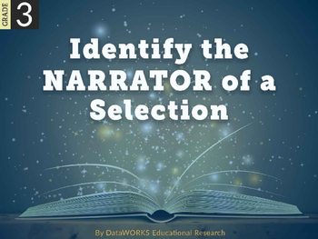 Identify the narrator of a selection