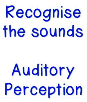 Identify the single sound