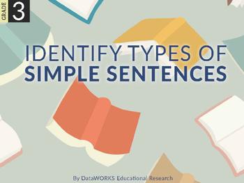 Identify types of simple sentences