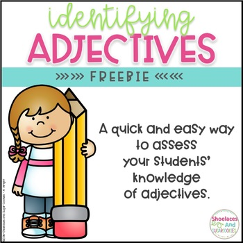 FREE Identifying Adjectives