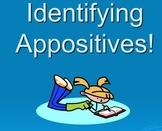 Identifying Appositives!