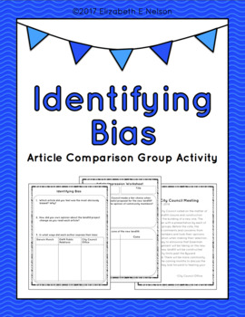Introduction - Identifying Bias: 3 Sample Articles & Works