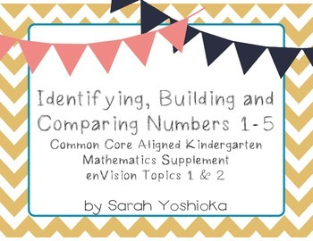 Identifying, Building and Comparing Numbers 1-5