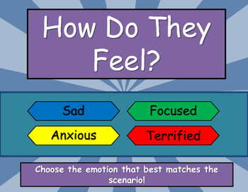Identifying Emotions - How Do They Feel?