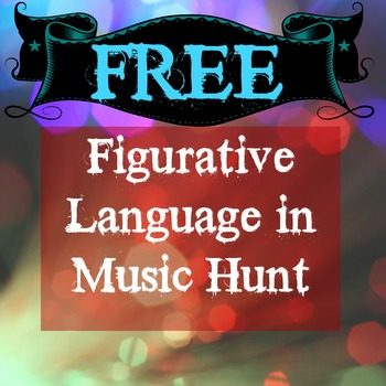 Identifying Figurative Language in Music Activity