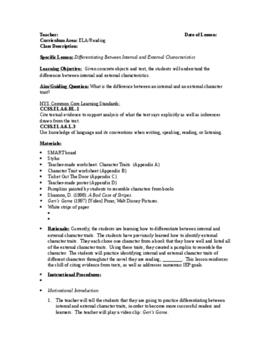 Identifying Internal/External Characteristcs: Hands On, Fu