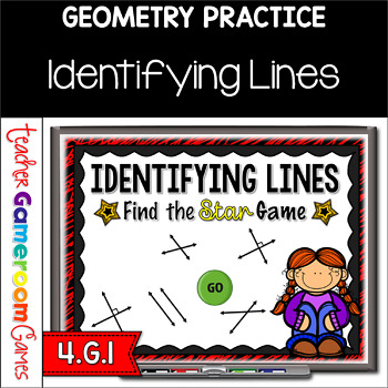 Identifying Lines - A Find the Star Powerpoint Game