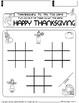 FREE -November NO PREP Math and Literacy Packet Thanksgivi