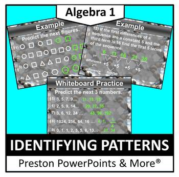 Identifying Patterns in a PowerPoint Presentation