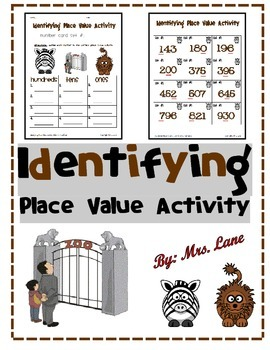 Identifying Place Value Activity