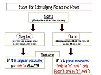 Identifying Possessive Nouns
