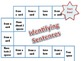 Identifying Sentences Board Game -Statement, Commands, Que