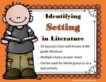 Identifying Setting in Literature