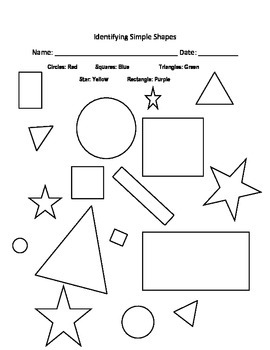 Identifying Simple Shapes