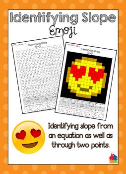 Identifying Slope Emoji