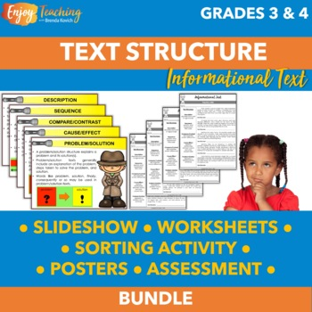 Identifying Text Structure Bundle RI.4.5 RI.5.5