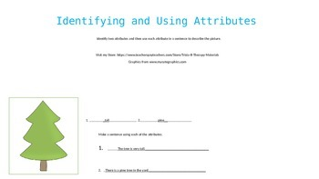 Identifying and Using Attributes