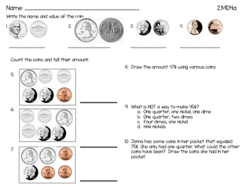 Identifying and using coins