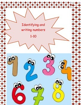 Identifying and writing numbers1-10
