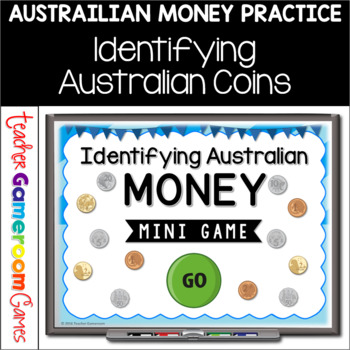Identifying Australian Money Mini Powerpoint Game
