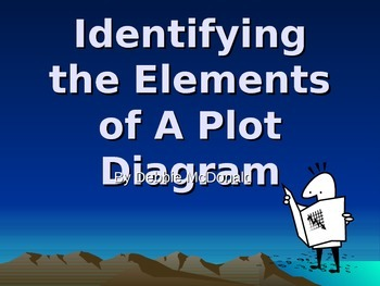 Identifying the Elements of a Plot Diagram Introduction Po