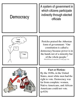 Ideologies mix and match cards