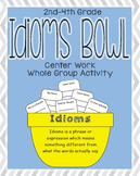 Idiom Bowl Language Arts