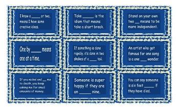 Idiom Cards 1