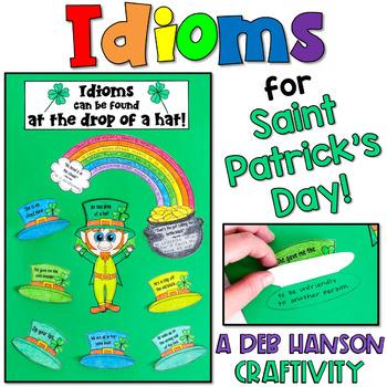 Idiom Craftivity for Saint Patrick's Day