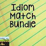 Idiom Match Literacy Center Bundle