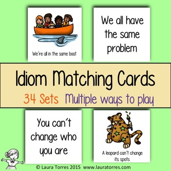 Idiom Matching Cards