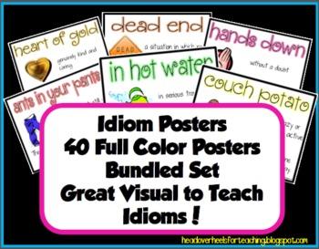 Idiom Posters Bundled Set