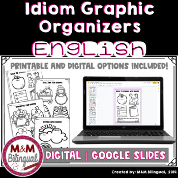 Idiom Posters {Graphic Organizers}