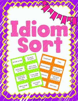 Idiom Sort