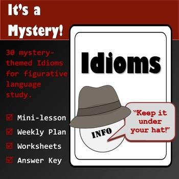 Idiom Study: It's a Mystery!