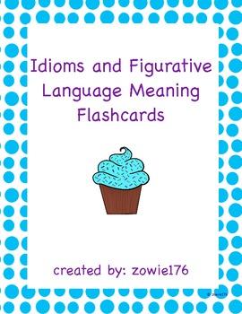Idioms Definition Flashcards