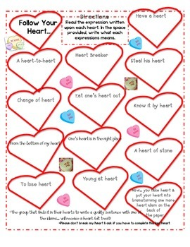 Idioms- Follow Your Heart