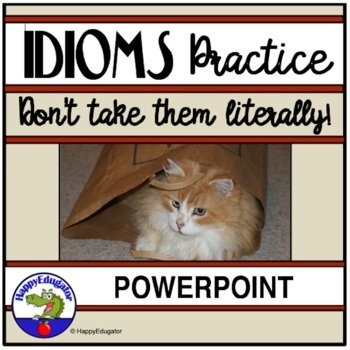 Idioms: Interactive Idioms PowerPoint