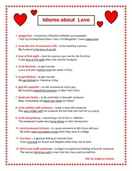 English Idioms about Love