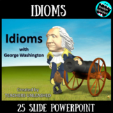 Idioms PowerPoint Lesson {Figurative Language}