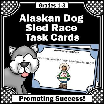 Iditarod for Kids Alaskan Dog Sled Race Book for Winter Ga