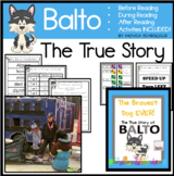 Iditarod Race: Balto-The Bravest Dog Ever Book Study