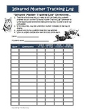 Iditarod Musher Tracker Sheet