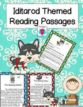 Iditarod Themed Reading Passages