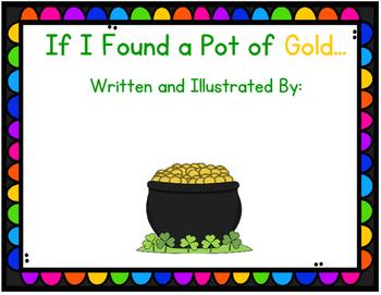 If I Found a Pot of Gold... Class Book
