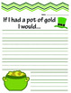 If I Had a Pot of Gold Prompt