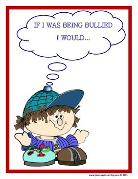 If I Was Being Bullied I Would...